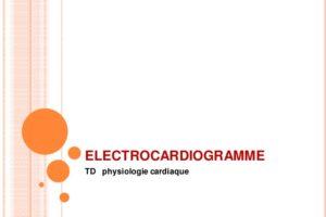 ÉLECTROCARDIOGRAMME .PDF
