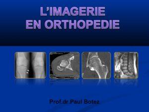 L'imagerie en orthopédie .PDF
