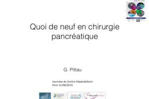 Quoi de neuf en chirurgie pancréatique .PDF