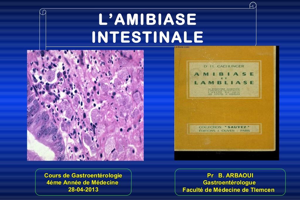 Amibiase Intestinale .PDF