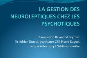 Gestion des neuroleptiques chez les psychotiques .PDF