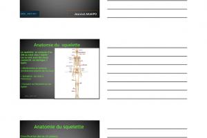 Ostéologie – Anatomie du squelette humain .PDF