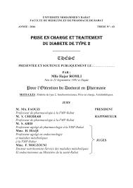 PRISE EN CHARGE ET TRAITEMENT DU DIABETE DE TYPE 2 .PDF