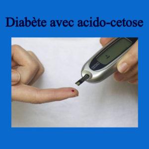 Diabète avec acido-cetose .PDF