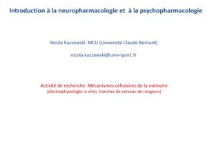 Neuropharmacologie .PDF