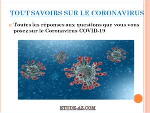 TOUT SAVOIRS SUR LE CORONAVIRUS .PDF