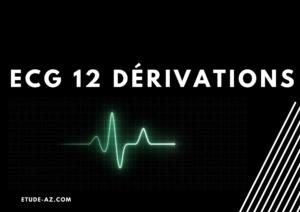 ECG 12 dérivations